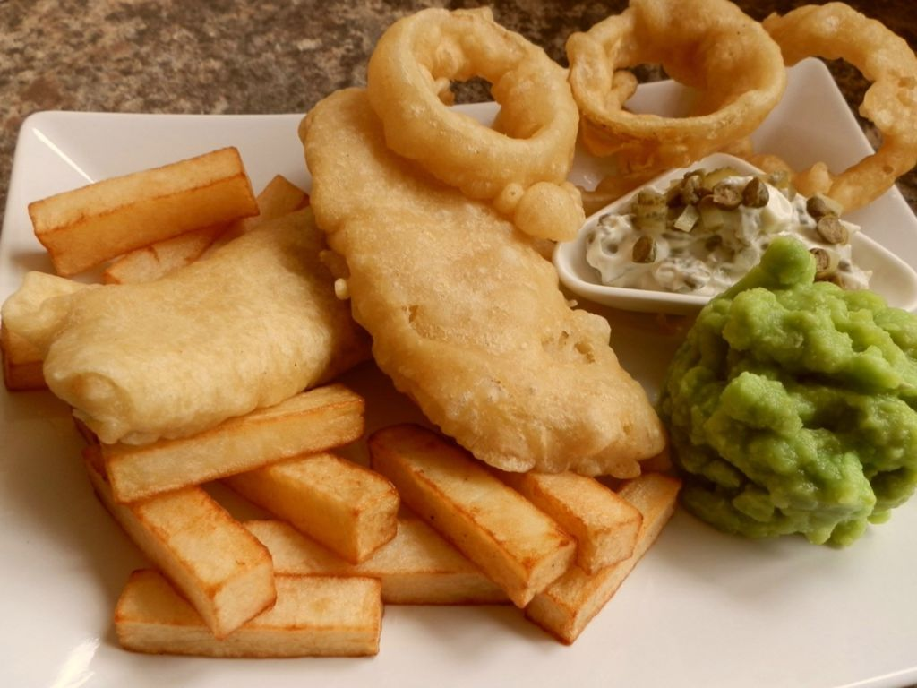 Fish And Chips Resepti