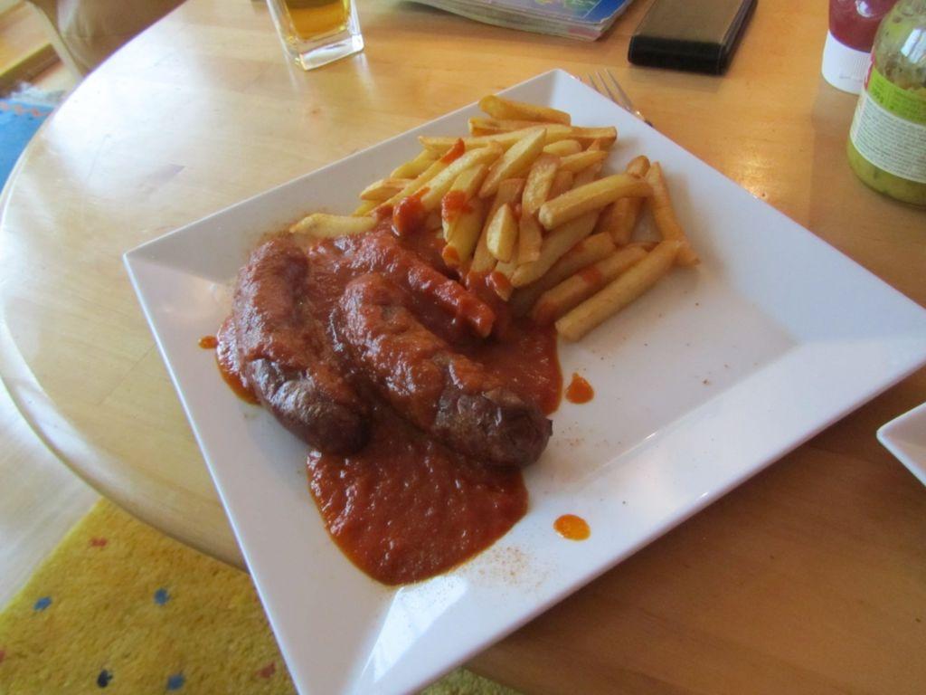 Currywurst Kastike