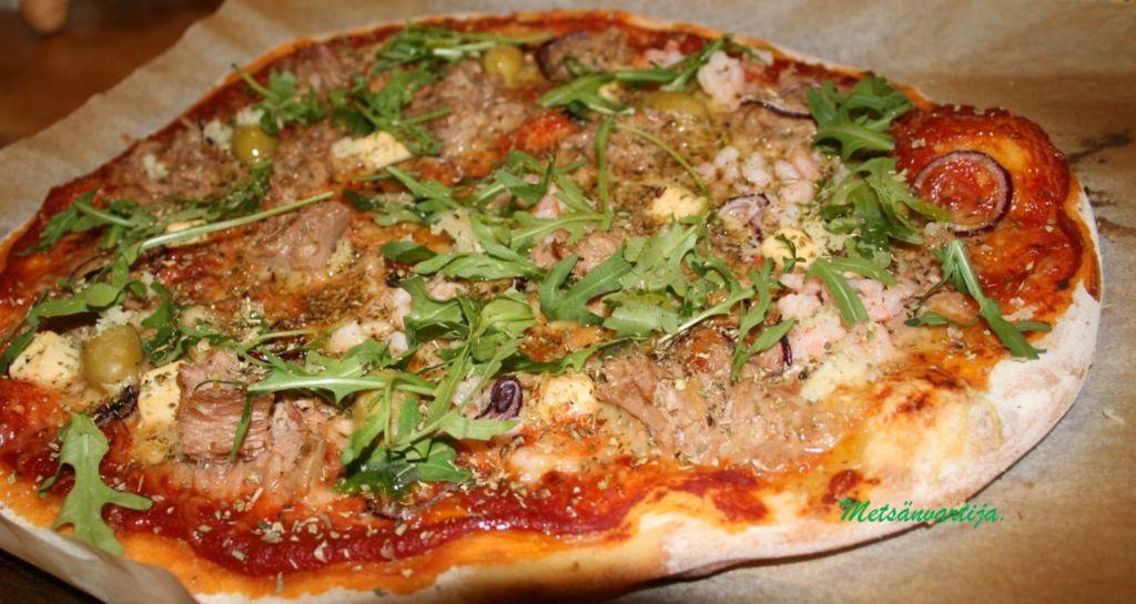 Itsetehty Pizza Täytteet
