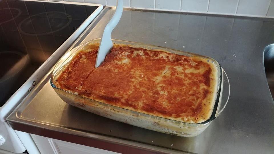 Lasagne Uunissa