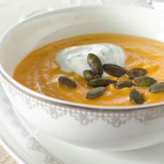 Bataatti-porkkanasosekeitto