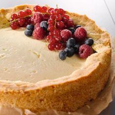 Sitruunainen cheese cake