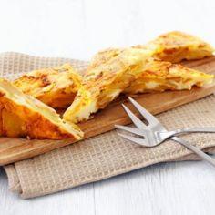 Tapas tortilla espagnola eli juusto-perunamunakas