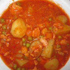 Tomaattinen lohikeitto