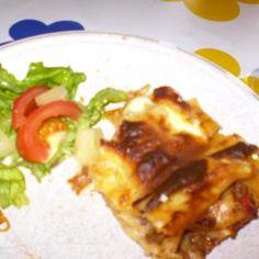 Perinteinen lasagne