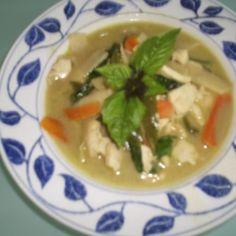 Vihrea thai curry