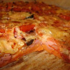 Pizzapiirakan pohja