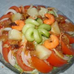salaattia taatelilla