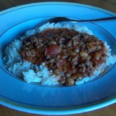Chili con carne 17.4.08