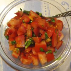 Nopsa tomaattisalaatti