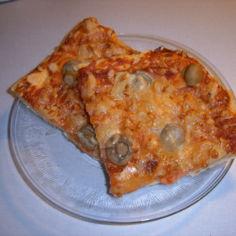 Mehevä pizzapohja