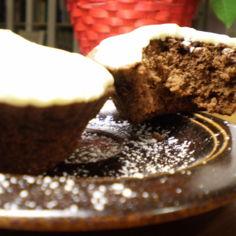 suklaa muffinit valkosuklaan kera
