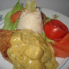 Ananas-Currykastike