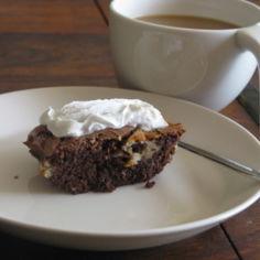 suklaa vuohenjuusto browniet