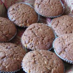 Kahden suklaan muffinssit