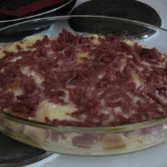leipäinen juusto-muna paistos