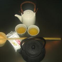 Senchan valmistus (japanilainen vihreä tee)