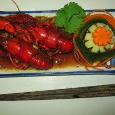 Sichuanilaiset jokiravut - Ma la xiao long xia