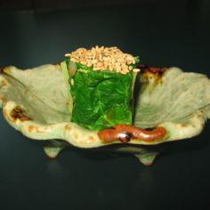 Mangoldia ja seesaminsiemeniä - O-hitashi