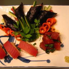 Tonnikalaa kolmella tavalla - Nigiri&Temaki sushi ja Maguro Butsu