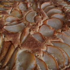 Päärynäpiirakka
