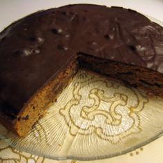 Pehmeä suklaa-inkivääri piparkakku