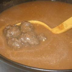 Keitetyt lihapullat