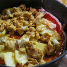 BBQ kastike  ( pannupizzaan / grillille)