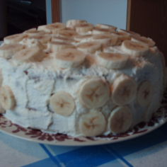 Banaani-suklaa kakku
