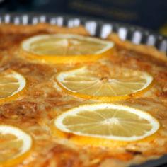 sitruunainen tonnikalapiiras