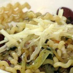 Spaghetti con olive