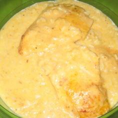 Broileria, kastiketta ja riisiä uunissa