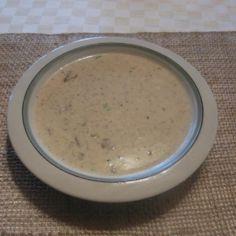 Cappuccino- sienikeitto