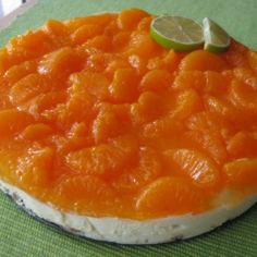 Mandariini-juustokakku