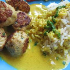 Currykastike broileripyöryköille
