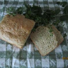 Yrttileipä leipäkoneella