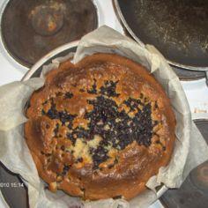 Nopea mustikka kakku