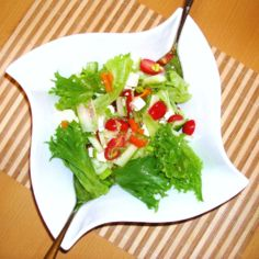 Fetajuustosalaatti