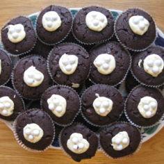 Suklaiset suklaamuffinssit