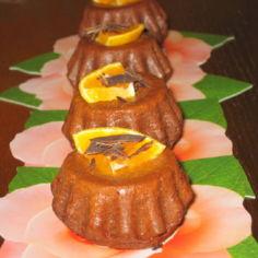 Suklaamuffiineja muarin suklaakakkua muutellen