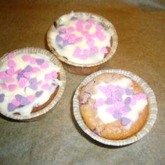 Ystävänpäivä muffinit