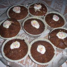 Vähän erilaiset suklaamuffinssit.12-15 kpl