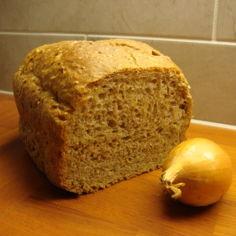 Sipulileipä leipäkoneella