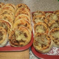 Pikkupizzat ja pizzapullat