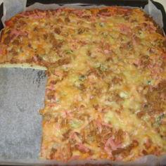 Helppo pitsapohja