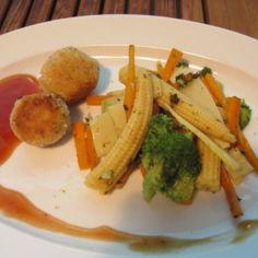 Hirssipyöryköitä ja kiinalaisia vihanneksia