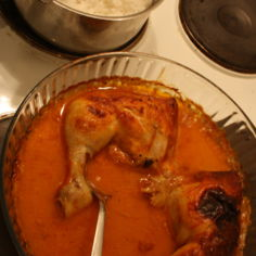Kanaa uunissa