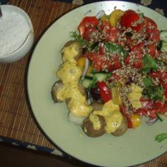 Chorizomakkarasalaatti ja uudet perunat