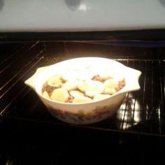 Simppeli jauhelihaperunalaatikko