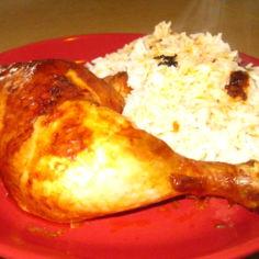 Kanaa ja riisiä